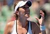 2011 Australian Open Tennis - photographer: Mark Peterson / corleve - MARTINEZ SANCHEZ, Maria Jose (ESP) [26] vs CORNET, Alize (FRA)