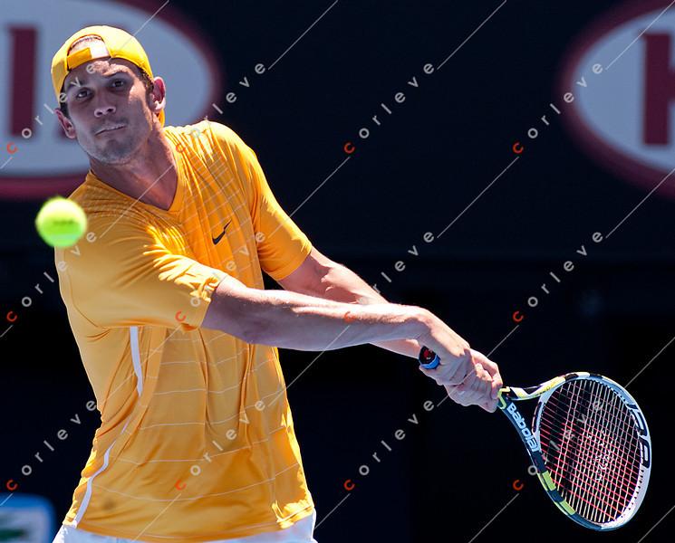 2011 Australian Open Tennis - photographer: Mark Peterson / corleve - NADAL, Rafael (ESP) [1] vs SWEETING, Ryan (USA)