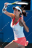 2011 Australian Open Tennis - photographer: Mark Peterson / corleve - GOERGES, Julia (GER) vs SHARAPOVA, Maria (RUS) [14]