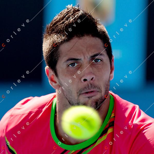 2011 Australian Open Tennis - photographer: Mark Peterson / corleve - BERDYCH, Tomas (CZE) [6] vs VERDASCO, Fernando (ESP) [9]