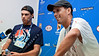 2011 Australian Open Tennis - photographer: Mark Peterson / corleve - BRYAN, Bob (USA) /<br /> BRYAN, Mike (USA) [1] vs<br /> BECKER, Benjamin (GER) /<br /> KOHLMANN, Michael (GER)