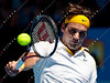 2011 Australian Open Tennis - photographer: Mark Peterson / corleve - ROBREDO, Tommy (ESP) vs FEDERER, Roger (SUI) [2]