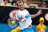 2011 Australian Open Tennis - photographer: Mark Peterson / corleve - FISH, Mardy (USA) [16] vs HANESCU, Victor (ROU)
