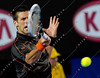 2011 Australian Open Tennis - GRANOLLERS, Marcel (ESP) vs DJOKOVIC, Novak (SRB) [3] - photographer: Mark Peterson / corleve