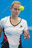 2011 Australian Open Tennis - Jelena Dokic practices indoors at Melbourne Park - photographer: Mark Peterson / corleve