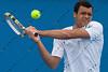 2011 Australian Tennis Open - Tsonga Practice - 9256