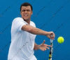 2011 Australian Tennis Open - Tsonga Practice - 9211