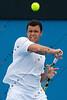 2011 Australian Tennis Open - Tsonga Practice - 9206