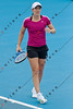 2011 Australian Open Tennis - Justine Henin practicing on Margaret Court