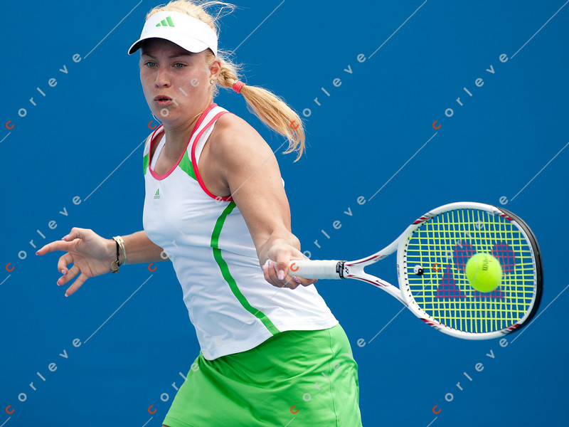 2011 Australian Open Tennis - photographer: Mark Peterson / corleve - KERBER, Angelique (GER) vs CIBULKOVA, Dominika (SVK) [29]