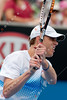 2011 Australian Open Tennis - photographer: Mark Peterson / corleve - KUBOT, Lukasz (POL) vs QUERREY, Sam (USA) [18]