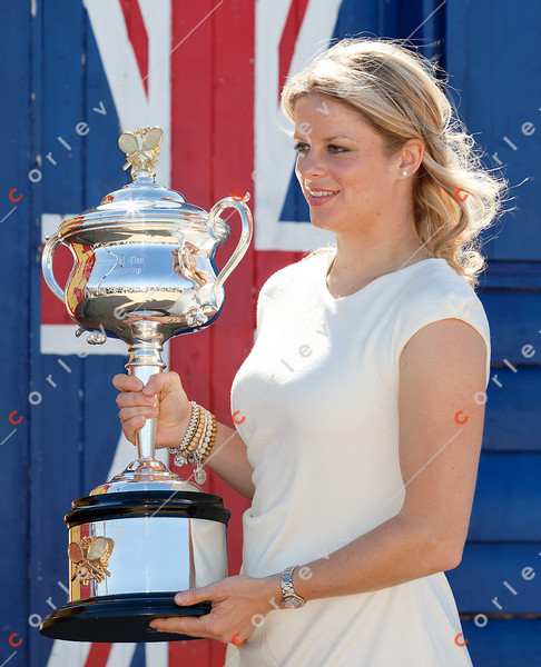 2011 Australian Open Tennis - photographer: Mark Peterson / corleve - Kim Clijsters Photo Shoot at Brighton Beach