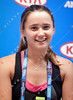 2011 Australian Open Tennis - photographer: Mark Peterson / corleve - DAVIS, Lauren (USA) [3] vs BARTY, Ashleigh (AUS)