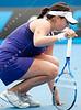 2011 Australian Open Tennis - photographer: Mark Peterson / corleve - LI, Na (CHN) [9] vs ARVIDSSON, Sofia (SWE)