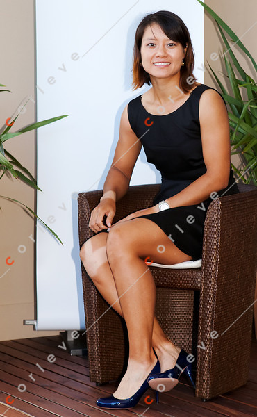 2011 Australian Open Tennis - photographer: Mark Peterson / corleve - Li Na Photo Shoot at Rolex Suite