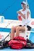 2011 Australian Open Tennis - Maria Sharapova practicing on Margaret Court