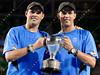 2011 Australian Open Tennis - photographer: Mark Peterson / corleve - BRYAN and BRYAN vs BHUPATHI and PAES
