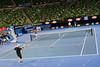 2011 Australian Open Tennis - Nadal practices with Peter Luczak at Rod Laver Arena - photographer: Mark Peterson / corleve