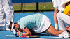 2011 Australian Open Tennis - KARATANTCHEVA, Sesil (KAZ) vs DOI, Misaki (JPN) [13] - photographer: Mark Peterson / corleve