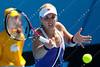 2011 Australian Open Tennis -  MANASIEVA, Vesna (RUS) vs LISICKI, Sabine (GER) - photographer: Mark Peterson / corleve