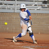 #22 Theresa Houle strikes-out swinging