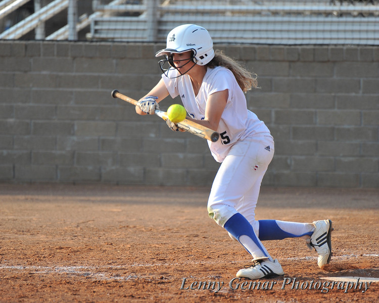 #15 Alicia Ingram pops out to 3rd.