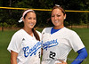 #2 Kaitlin McGinley and #22 Theresa Houle
