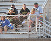 Belhaven alumna Ashley Mottola and her parents Steve and Edie take in the CSUSM game as we enter the top of the 5th.