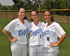 """Seniors!""<br /> #19 Shanti Poston, #1 Brenna Sandberg, and #18 Kimberly Villalpando"