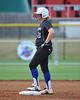 #21 Alyssa Dronenburg is still hanging out on 2nd base.