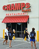 The after-game meal/party was held at Champ's Place in Gulf Shore, AL.  It seemed only appropriate now that they have two wins unders their belts.
