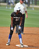#00 Derrisha Lacey on 2nd base.