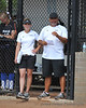 Assistant coaches Leah Glasgow and John Coelho.
