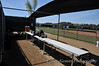 CSUSM home dugout (from rear)