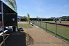 CSUSM home dugout, looking down 3rd base line