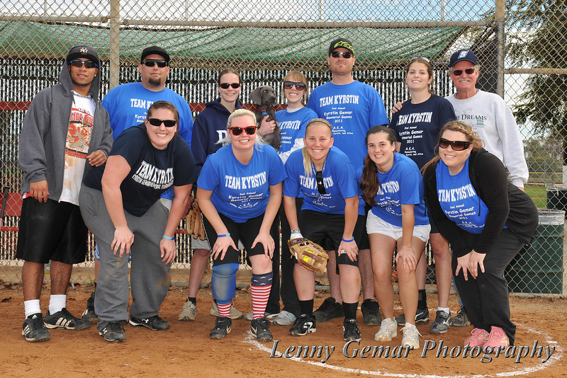 #1 2011 Team, The Mad Dogs, who went undefeated in four games.