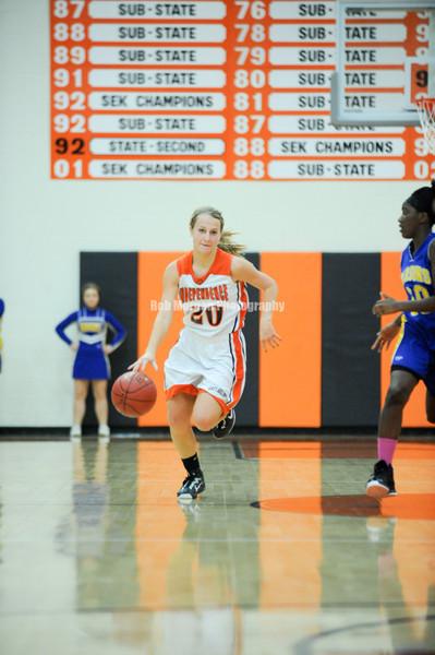 2012 - 2013 IHS lady bulldog Basketball