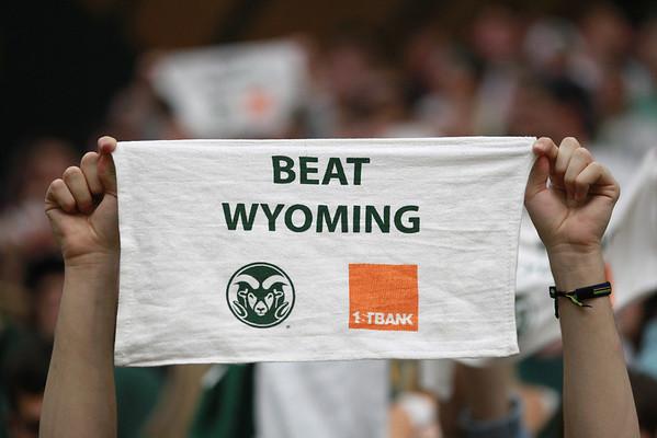 CSU vs. Wyoming Men's BB 2013