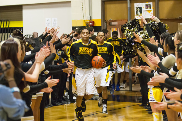 2013 Joliet West Varsity Basketball vs Lockport