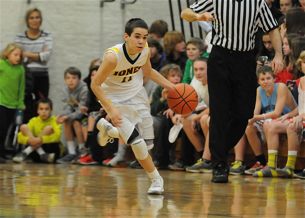 2012-2013 Jones Boys Basketball