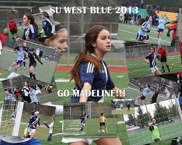 SU West Blue Photo Collages and Pics from the Party