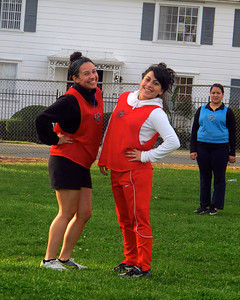 Girls' Soccer Practice