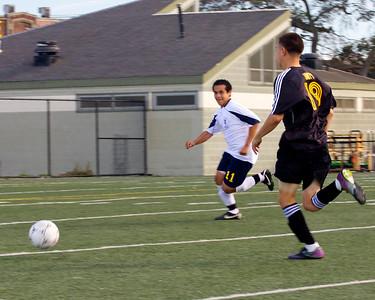 Mens' Soccer VS Lionel Wilson-9/21/2012