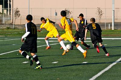 Boys' soccer VS Lighthouse