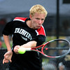 """Tommy Mason of Fairview, plays in the finals of the no.1 doubles with Kevin Chen on Saturday.<br /> For more photos from state tennis, go to  <a href=""""http://www.dailycamera.com"""">http://www.dailycamera.com</a>.<br /> Cliff Grassmick  / October 13, 2012"""