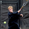 "Connor Corrigan of Fairview at state in doubles.<br /> For more photos from state tennis, go to  <a href=""http://www.dailycamera.com"">http://www.dailycamera.com</a>.<br /> Cliff Grassmick  / October 13, 2012"