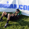 """Cole Vanmeveren takes a nap while his father competes in the Boulder Ironman at the Boulder Reservoir on Sunday.<br /> For  more photos and a video of the Ironman, go to  <a href=""""http://www.dailycamera.com"""">http://www.dailycamera.com</a>.<br /> Cliff Grassmick  / August 5, 2012"""