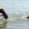 """The first two pro women come out of the water at the Boulder Ironman on Sunday.<br /> For  more photos and a video of the Ironman, go to  <a href=""""http://www.dailycamera.com"""">http://www.dailycamera.com</a>.<br /> Cliff Grassmick  / August 5, 2012"""