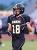 High School Varsity Football, Elmira Express at Corning Hawks, September 7, 2012.