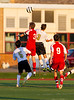 High School Boys Varsity Soccer, Binghamton Patriots at Corning Hawks, September 5, 2012.